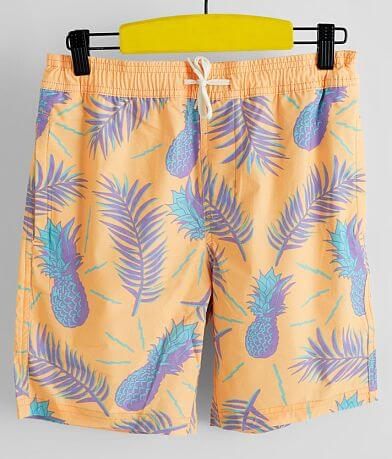 Boys - Departwest Pineapple Pop Stretch Boardshort