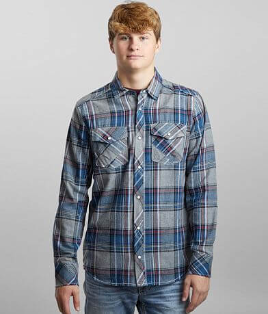 BKE Plaid Standard Flannel Shirt