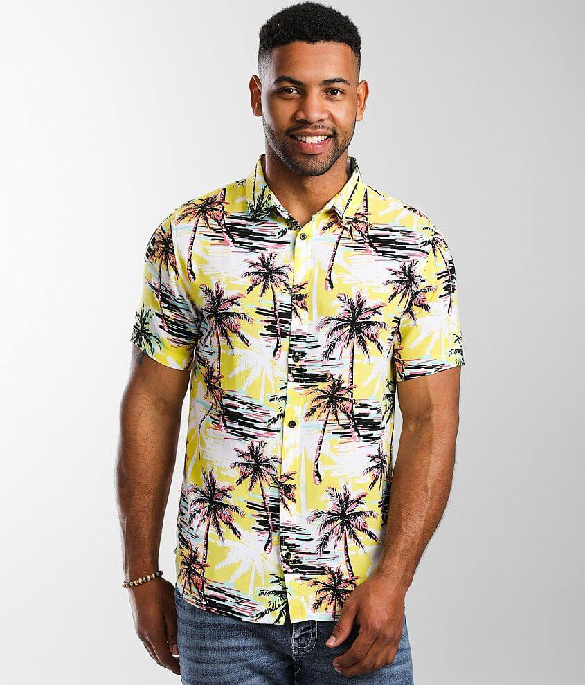 Departwest Palm Tree Shirt front view