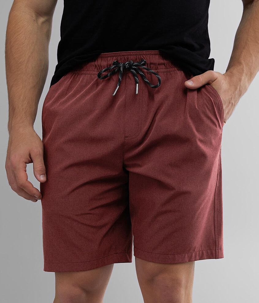 Departwest Marled Stretch Short front view
