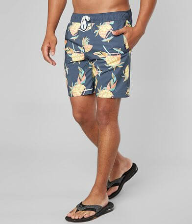 Departwest Crazy Pineapple Stretch Boardshort