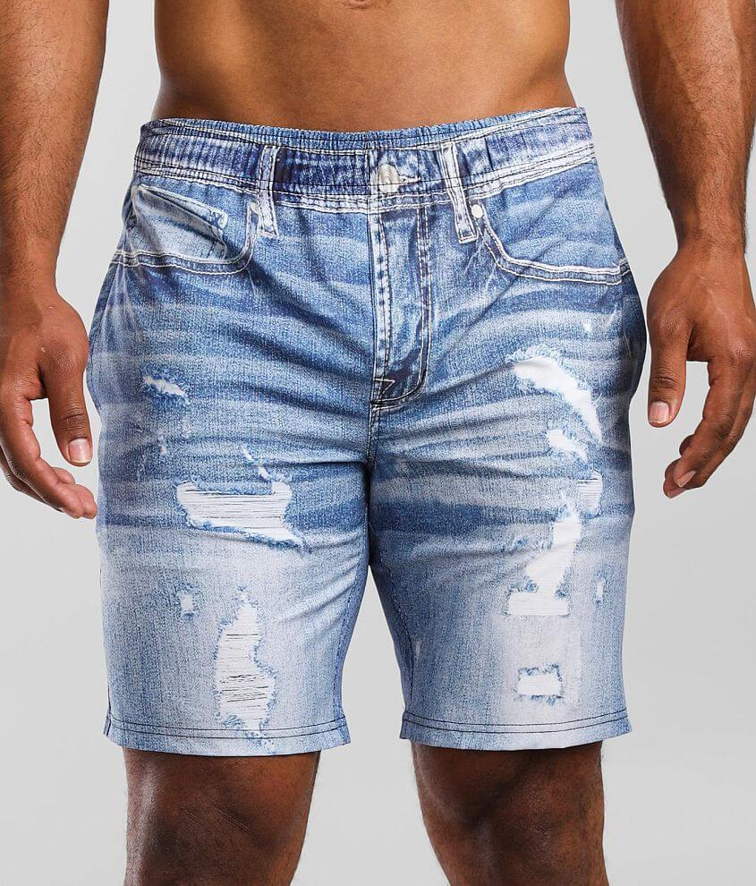 Departwest Party Jorts Stretch Boardshort front view