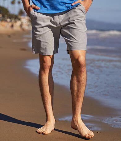 Departwest Herringbone Stretch Short