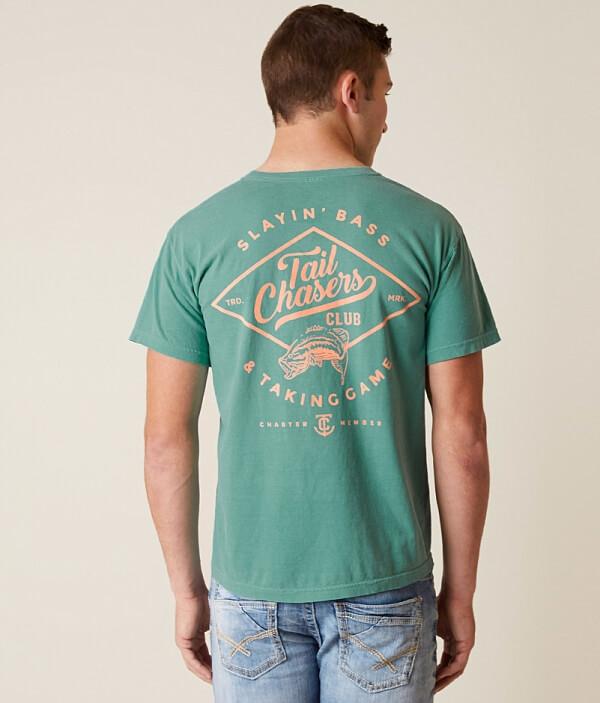 Slayin' Bass Chasers Tail T Shirt w85EdEqnO