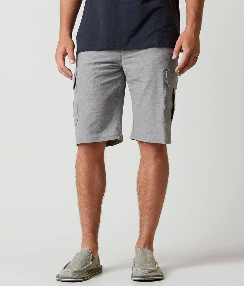 d4026375a2302e BKE Fenton Hybrid Cargo Stretch Walkshort - Men s Shorts in Grey ...