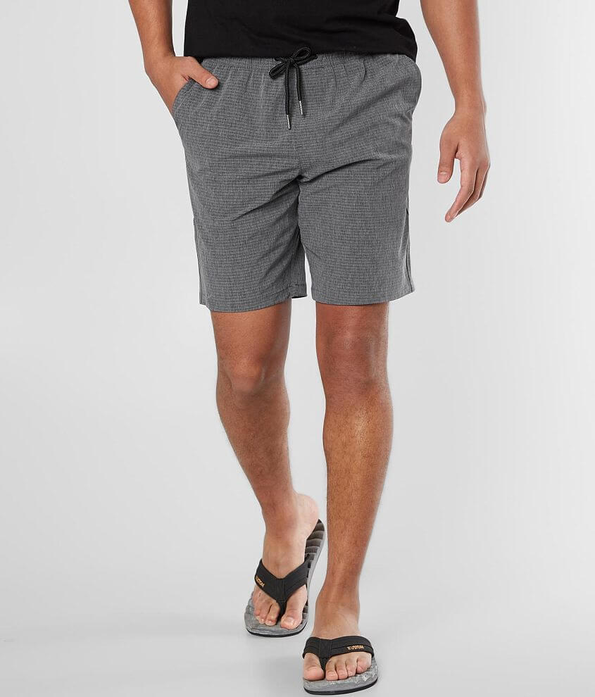 BKE Tonal Striped Stretch Short front view