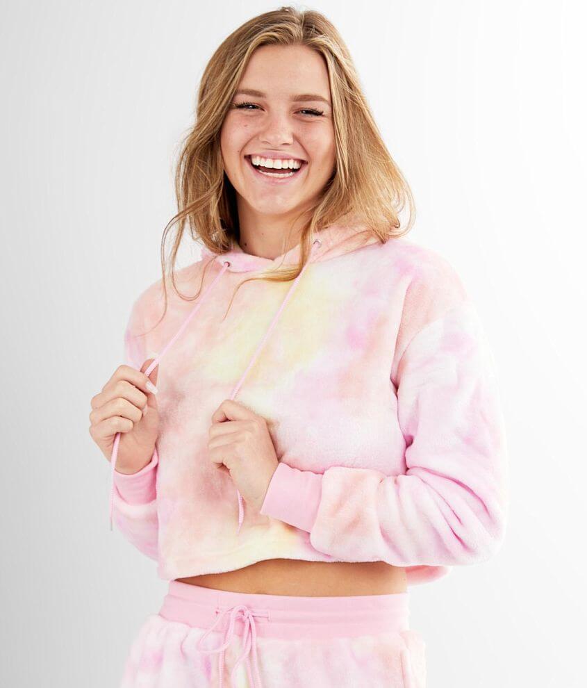 Ci Sono Wubby Cropped Sweatshirt front view