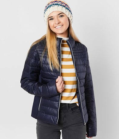 Ci Sono Quilted Puffer Jacket