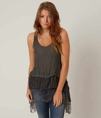 willow & root Textured Tank Top