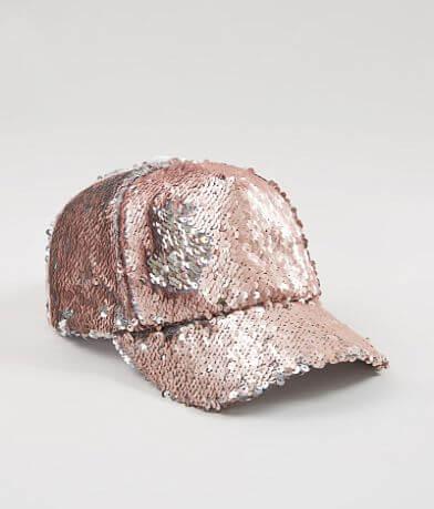 Steve Madden Sequin Baseball Hat