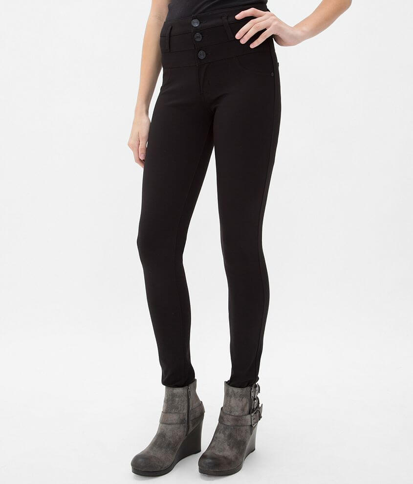 Celebrity Pink High Rise Skinny Ponte Pant front view