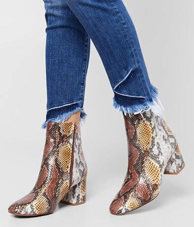 Chinese Laundry Davinna Faux Snakeskin Ankle Boot