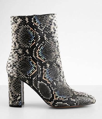 Chinese Laundry Koraline Snake Print Ankle Boot