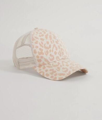 Leopard Print Trucker Hat