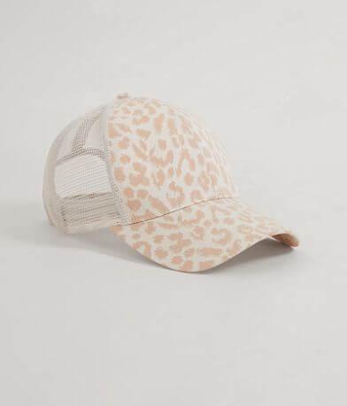 Leopard Print Baseball Hat
