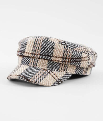 Plaid Cabbie Hat