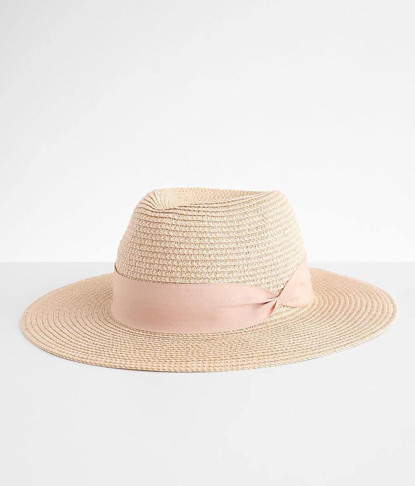 Panama Ribbon Hat front view