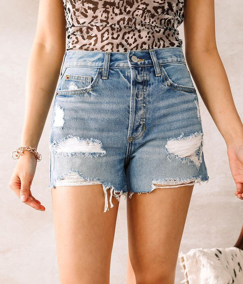 Cello Jeans High Rise Short front view