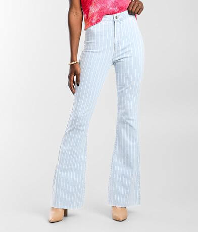 Cello Jeans High Rise Flare Stretch Jean
