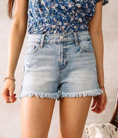 Cello Jeans High Rise Stretch Short