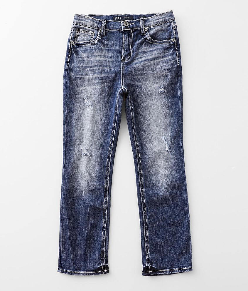 Boys - BKE Hudson Straight Stretch Jean front view