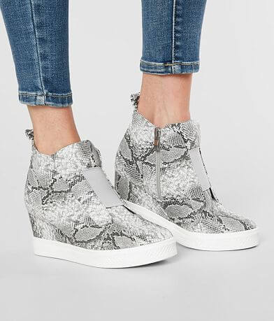 CCOCCI Zoey Snakeskin Wedge Shoe