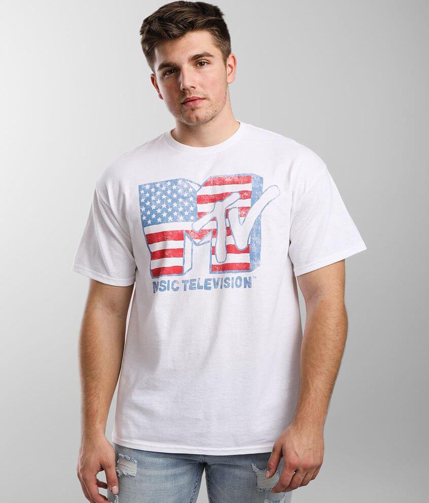 MTV™ Doodle Flag T-Shirt front view