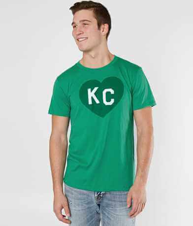 Charlie Hustle KC Heart T-Shirt