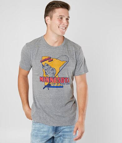 Charlie Hustle Minnesota Land 10,000 Lakes T-Shirt