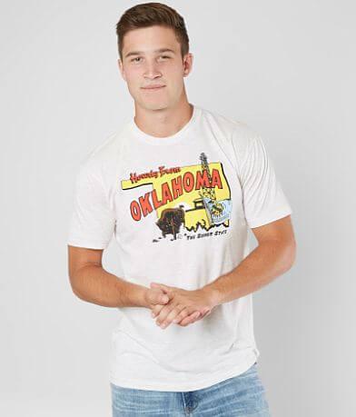 Charlie Hustle Oklahoma The Sooner State T-Shirt