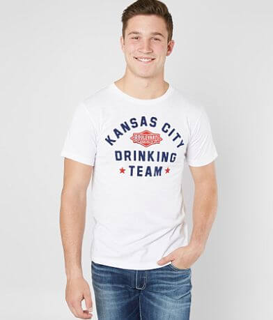 Charlie Hustle Kansas City Drinking Team T-Shirt