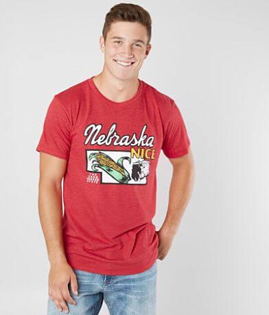 Charlie Hustle Nebraska Cornhusker State T-Shirt