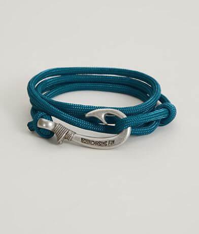 Chasing Fin Sea Blue Wrap Bracelet