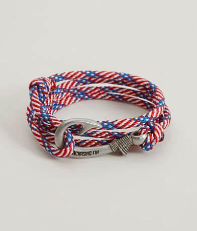 Chasing Fin Stars & Stripes Wrap Bracelet
