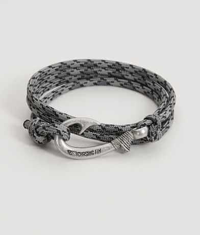 Chasing Fin Titanium Wrap Bracelet