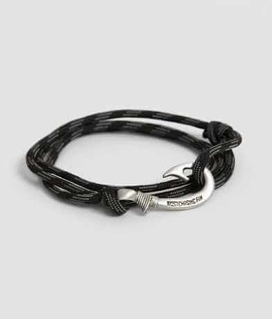 Chasing Fin Touch of Gray Wrap Bracelet