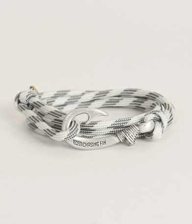 Chasing Fin Grayscale Wrap Bracelet
