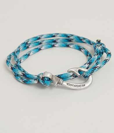 Chasing Fin Blue Snake Wrap Bracelet