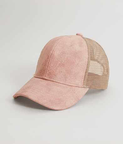 C.C Textured Trucker Hat