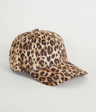 C.C Leopard Print Hat