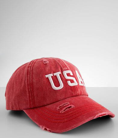 C.C® USA Washed Baseball Hat