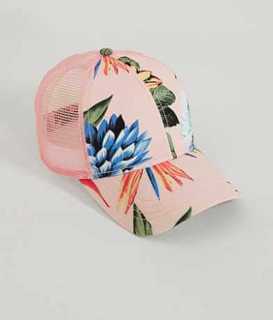 C.C Floral Trucker Hat