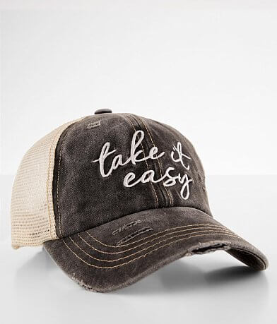C.C® Take It Easy Washed Baseball Hat