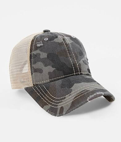 C.C® Camo Ponytail Baseball Hat