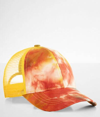 C.C® Tie Dyed Ponytail Baseball Hat