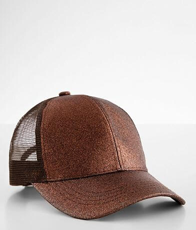 C.C® Glitter Ponytail Baseball Hat