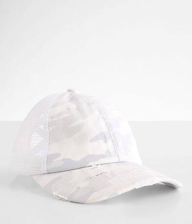C.C® Camouflage Criss Cross Trucker Hat