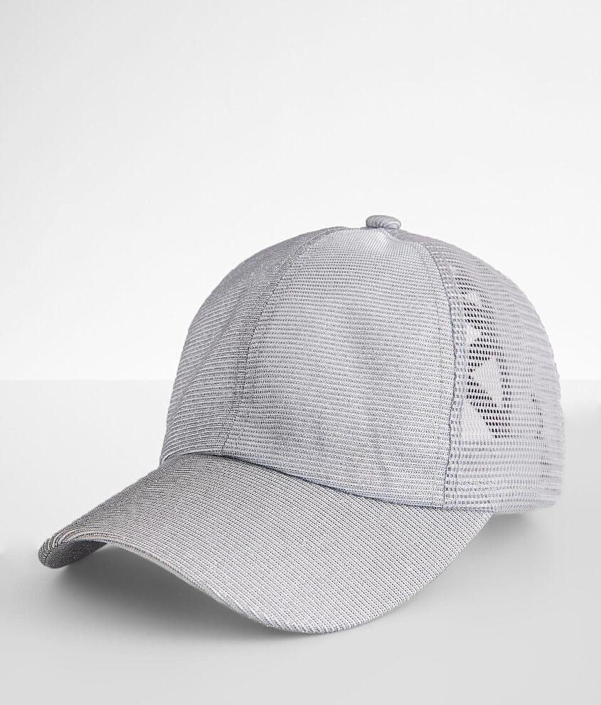 C.C® Glitter Criss Cross Ponytail Hat front view