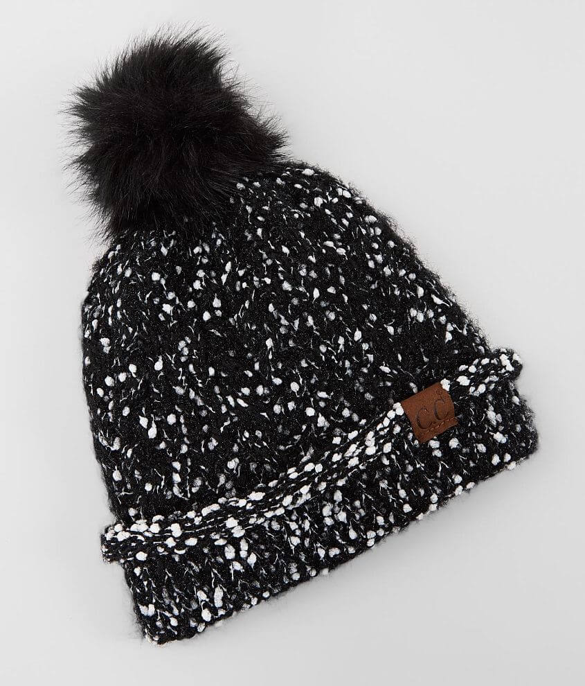 C.C® Marled Knit Beanie front view