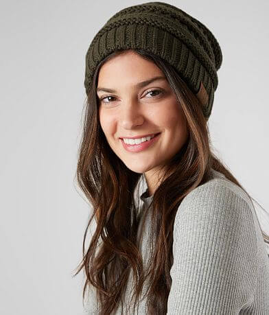 C.C Cable Knit Beanie